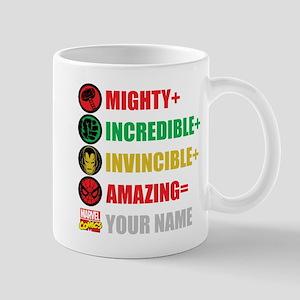 Mighty Incredible Invincible Amazing Pe Mug