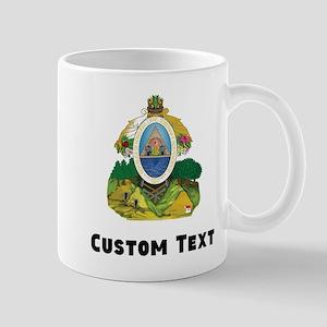 Honduras Coat Of Arms Mugs