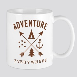 Adventure Everywhere Mugs