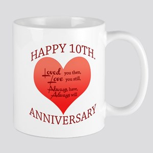 10th. Anniversary Mugs