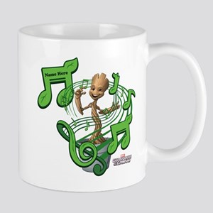 GOTG Personalized Musical Groot Mug