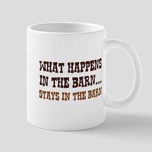 What Happens In The Barn Mug