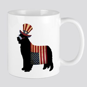 4th of July Newfie Mugs