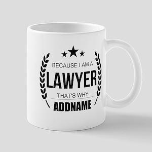 Lawyer Gifts Personalized Mug