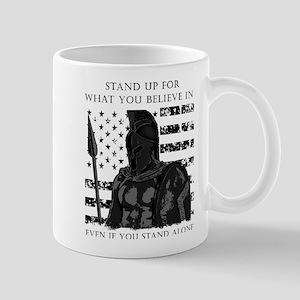American Flag Spartan Mugs