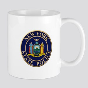 Police for the state of New York Mugs