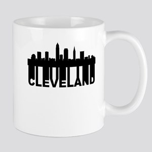 Roots Of Cleveland OH Skyline Mugs