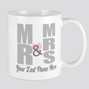 Mr and Mrs Love Mugs