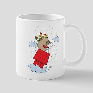 Flying Ace Santa Mug