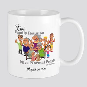 Personalized Family Reunion Funny Cartoon Mugs