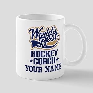 Hockey Coach Personalized Gift Mugs