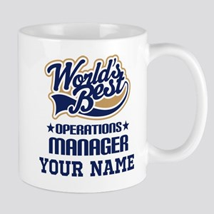 Operations Manager Personalized Gift Mugs