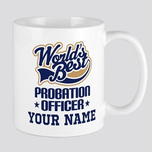 Probation Officer Personalized Gift Mugs