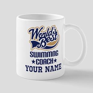 Swimming Coach Personalized Gift Mugs