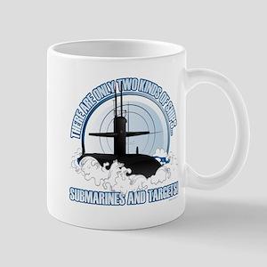 Submarines And Targets Mugs