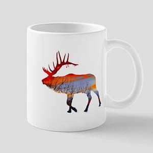 Sunset elk Mug