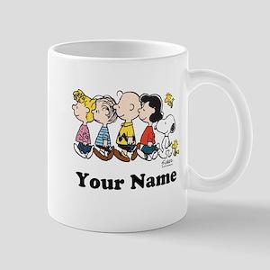 Peanuts Walking No BG Personalized Mug