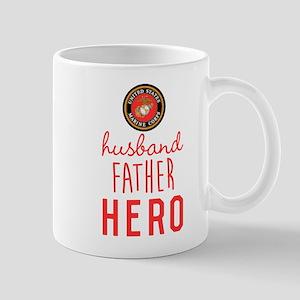 USMC Husband Father Hero Mug