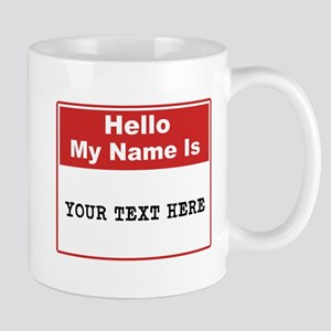 Custom Name Tag Mug