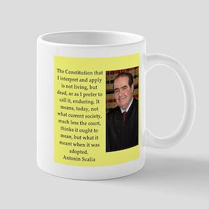 Antonin Scalia quote Mugs