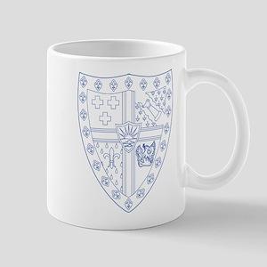 Sigma Alpha Epsilon Fraternity Crest in Mug