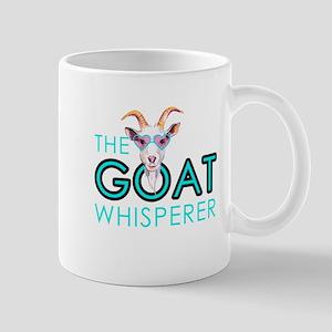 The Goat Whisperer Hipster Goat by GetYerGoat Mugs