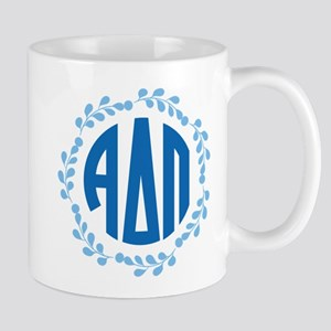 Alpha Delta Pi Wreath 11 oz Ceramic Mug
