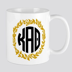 Kappa Alpha Theta Wreath 11 oz Ceramic Mug
