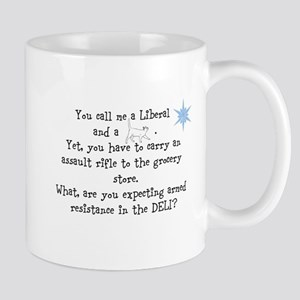 Expecting armed resistance? Mugs
