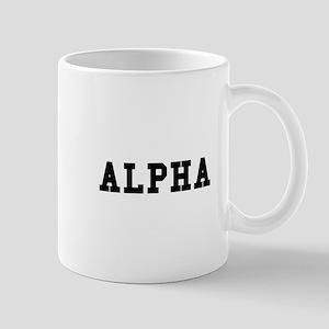 Alpha Mugs