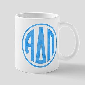 Alpha Delta Pi Letters 11 oz Ceramic Mug