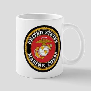 USMC Logo 11 oz Ceramic Mug