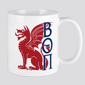 Beta Theta Pi Dragon Letters Mugs
