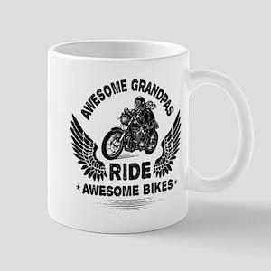 Biker Grandpa 11 oz Ceramic Mug