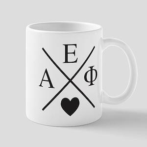 Alpha Epsilon Phi Cross Heart 11 oz Ceramic Mug