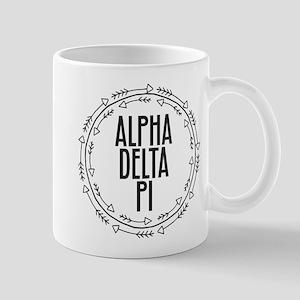 Alpha Delta Pi Arrows 11 oz Ceramic Mug
