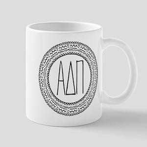 Alpha Delta Pi Medallion 11 oz Ceramic Mug