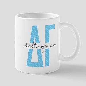 Delta Gamma Polka Dots 11 oz Ceramic Mug