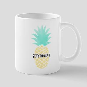 Zeta Tau Alpha Pineapple ZTA Mugs