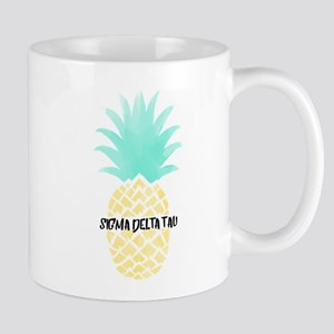 Sigma Delta Tau Pineapple 11 oz Ceramic Mug