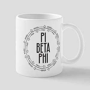 Pi Beta Phi Arrows 11 oz Ceramic Mug