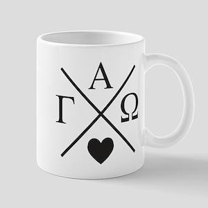 Gamma Alpha Omega Cross 11 oz Ceramic Mug