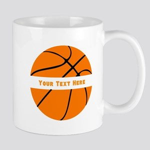 Basketball Personalized 11 oz Ceramic Mug