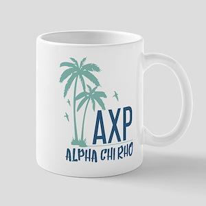 Alpha Chi Rho Palm Tree Mugs