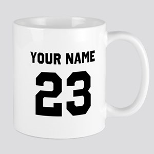 Customize sports jersey number 11 oz Ceramic Mug