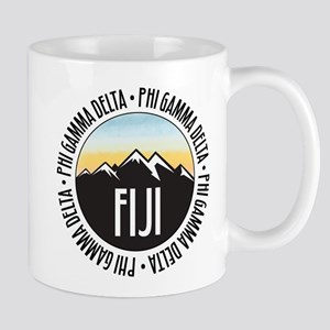 Phi Gamma Delta Mountain Sunset 11 oz Ceramic Mug