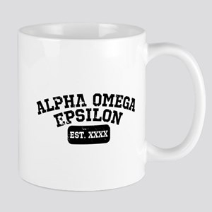 Alpha Omega Epsilon Athletic Per 11 oz Ceramic Mug