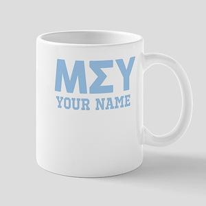 Mu Sigma Upsilon Letters Persona 11 oz Ceramic Mug