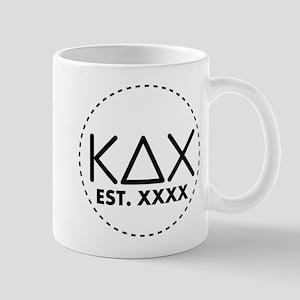 Kappa Delta Chi Circle 11 oz Ceramic Mug