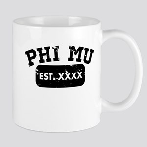 Phi Mu Athletic 11 oz Ceramic Mug